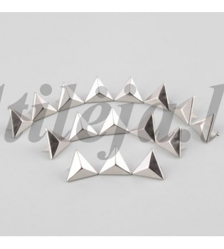 200 15 mm sidabrinės kniedės KND019
