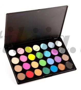 28 spalvų akių šešėlių paletė SP014